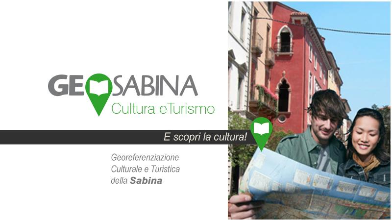 Banner Geosabina - Georeferenziazione Culturale e Turistica della Sabina  - Link ad applicazione esterna al sito